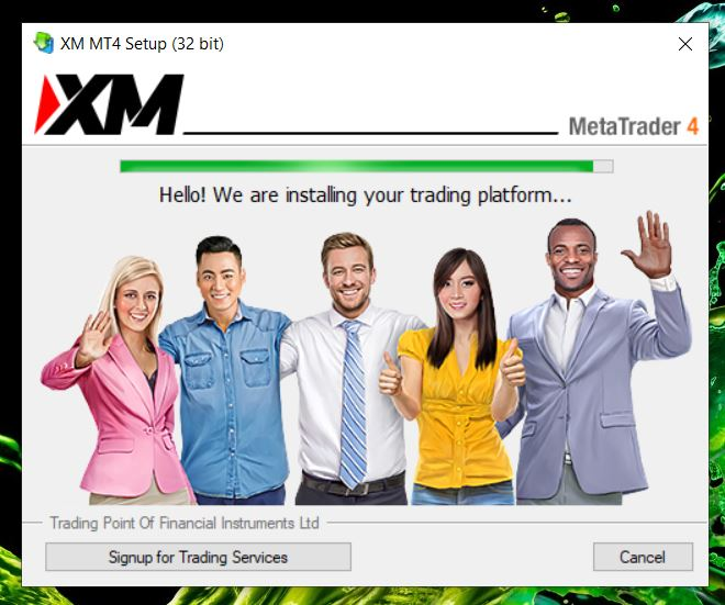 Metatrader 4 loading